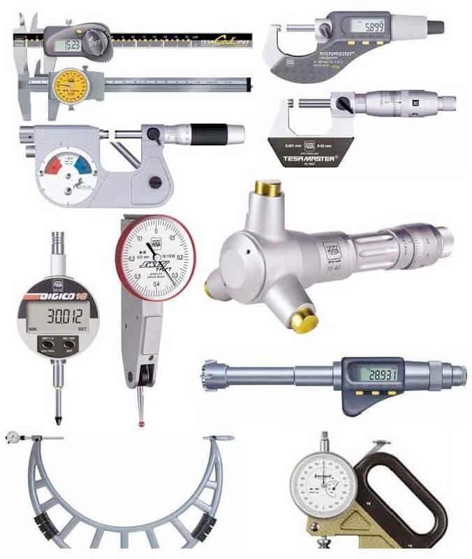 Precision Measuring Instruments : Precision parts bright international
